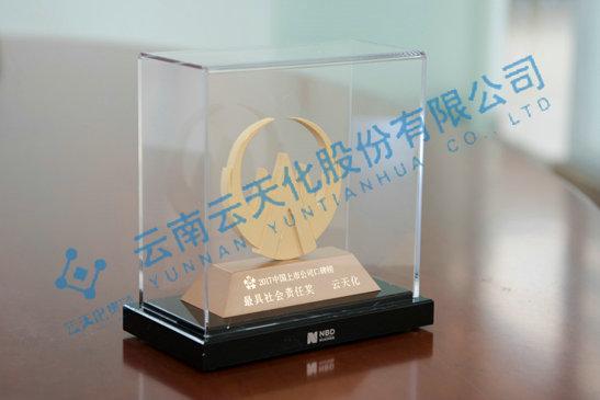 2017中国上市gongsi口碑榜最具社会责任奖